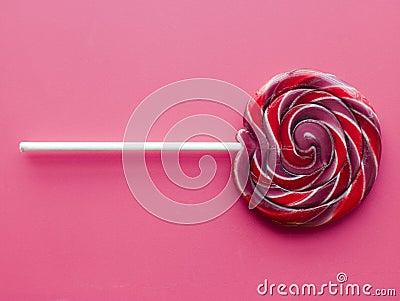 Spiral Fruit Lollipop