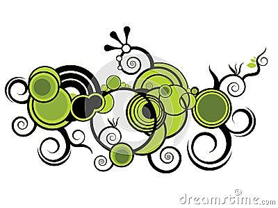 Spiral graphic  design