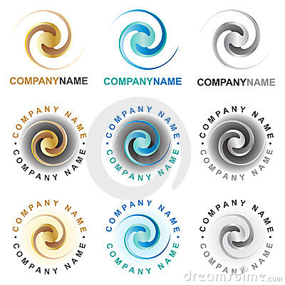 Free Spiral Icons And Logo Design Elements Royalty Free Stock Photos - 19194448