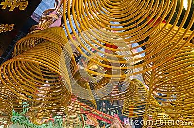 Spiral Joss Sticks