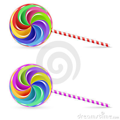 Free Spiral Lollipop Stock Images - 18479524