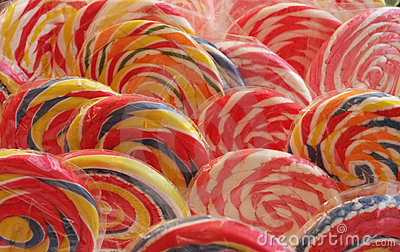 Spiral lollipops