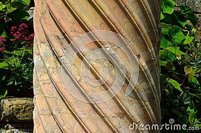 Spiral Marble Column