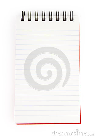 Spiral  note pad