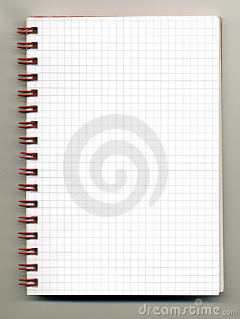 Free Spiral Notebook Stock Photo - 4462200