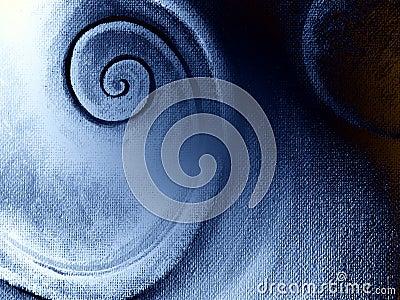 Spiral Pattern Textures Canvas