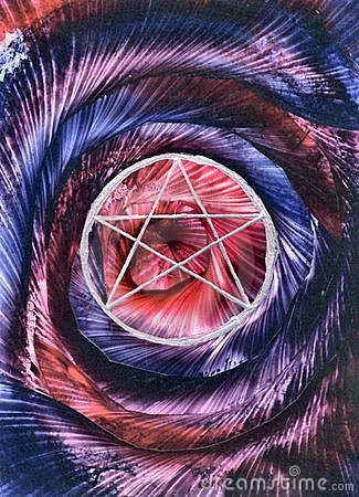 Spiral Pentagram