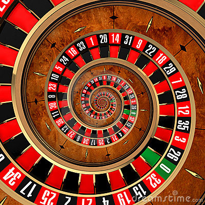 Free Spiral Roulette Stock Image - 19437951