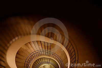Spiral stair to the infinity.