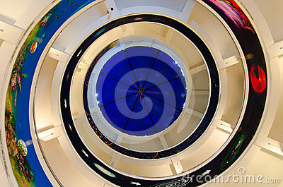 Spiral staircase Editorial Stock Photo
