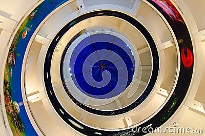 Spiral staircase Editorial Stock Photo