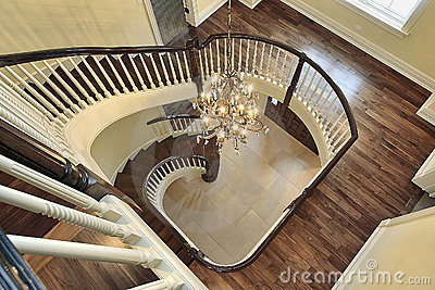 spiral-staircase-foyer-view- ...