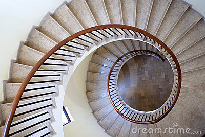 Spiral Stairs Stock Photography - Image: 15025482