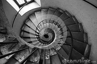 Spiral stairs black and white architecture old italian palace stock photo image 55312487 - Nature curiosity stressed out plants emit animal like signals ...