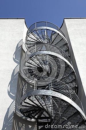 Free Spiral Stairway Stock Image - 24028551