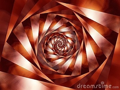Spiral Stripes Background