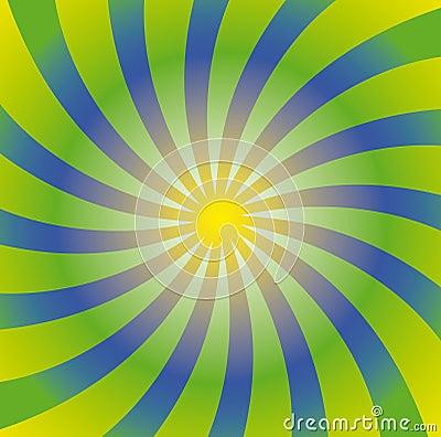 Free Spiral Sun Royalty Free Stock Image - 12519056