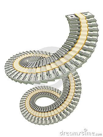 Spiral USD stack