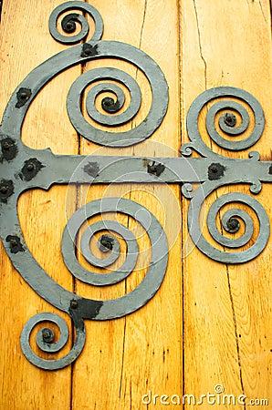 Spiraled Door Design