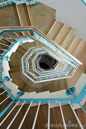 Free Spiraling Stairs Stock Photo - 16579620