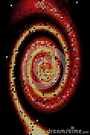 Spiralling background