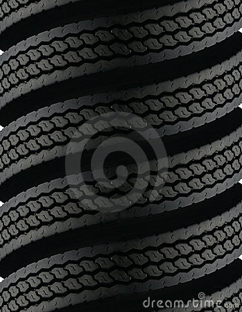Free Spiralling Tires Royalty Free Stock Images - 4163319