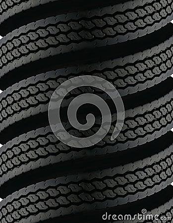 Spiralling tires