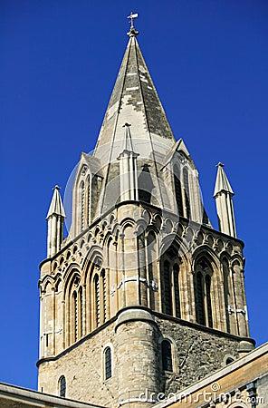 Spire of Christ Church Oxford University