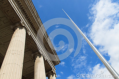 Spire of Dublin & Post Office