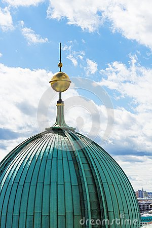 Free Spire Of Berlin Cathedral Berliner Dom Stock Photography - 103841432