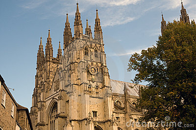 Spires of canterbury