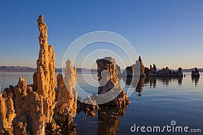 Spires on Mono Lake