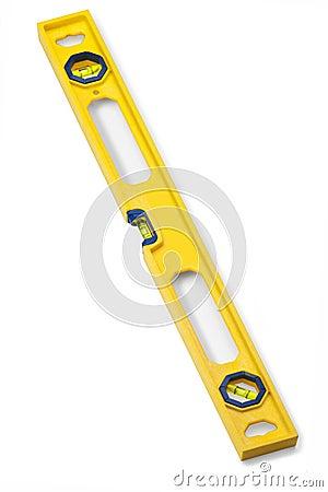 Free Spirit Level Tool Isolated Stock Photo - 44383700