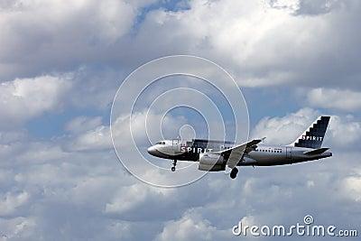 Spirit Passenger Jet Airliner Editorial Image