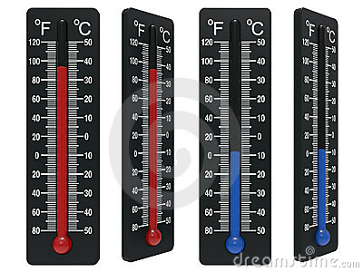 Spirit the thermometer