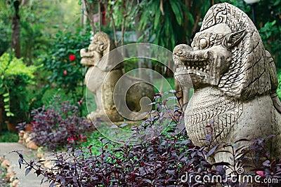 Spirits statues
