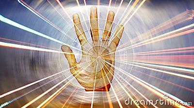 Spiritual Healing Hand