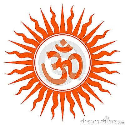 Spiritual Om Sign