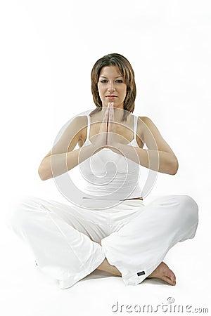 Free Spiritual Young Woman Royalty Free Stock Image - 236076