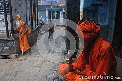 Spirituality in India Editorial Photo