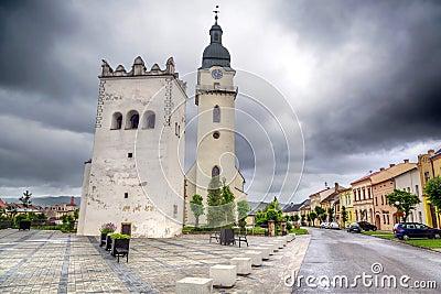Spisska Bela town in northern Slovakia