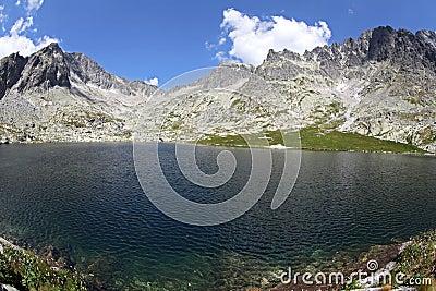 5 Spisskych plies  - tarns in High Tatras, Slovaki