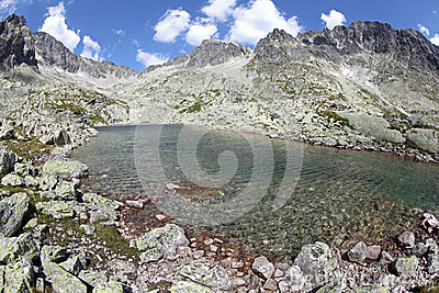 5 Spisskych plies  - tarns in High Tatras, Slovaki