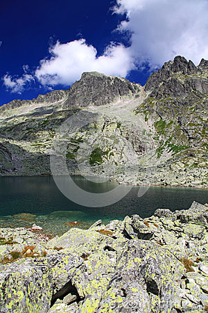 5 πτυχές Spisskych - tarns σε υψηλό Tatras, Σλοβακία