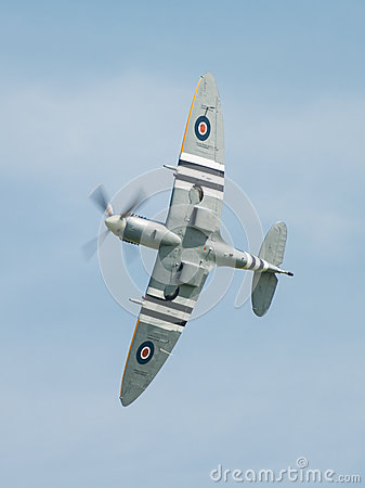 Free Spitfire In Flight Stock Photo - 40571180