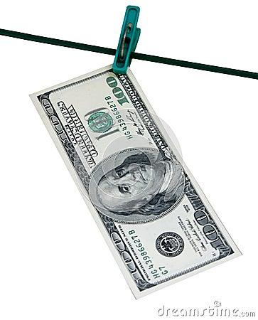 Spitze und Dollar