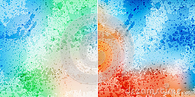 Splash backgrounds