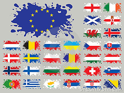 Splash flags set Europe two