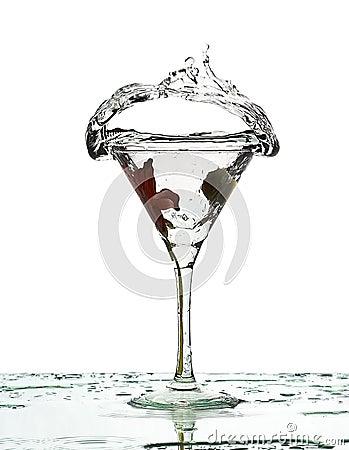 Splash of fluid