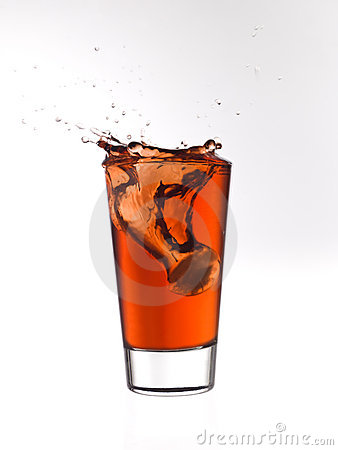 Splash in a glass